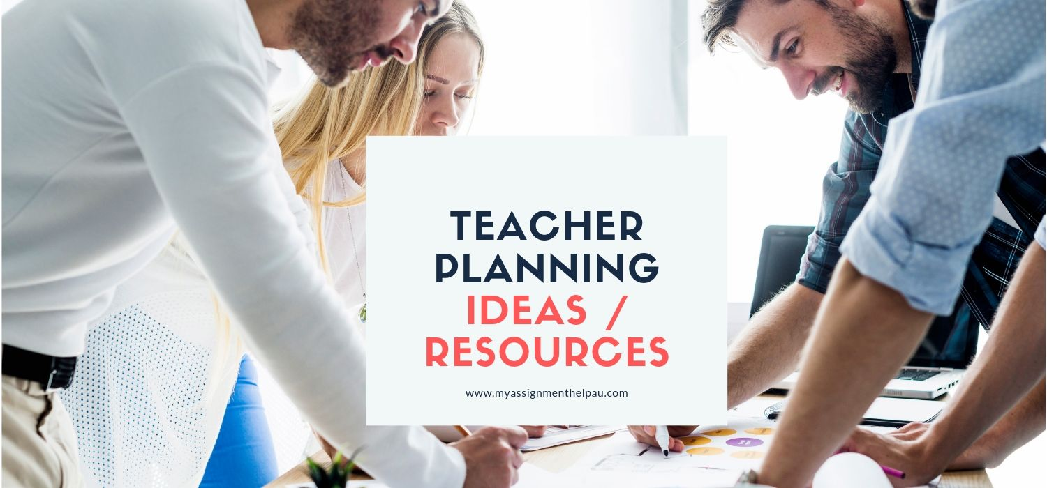 Teacher Planning Education