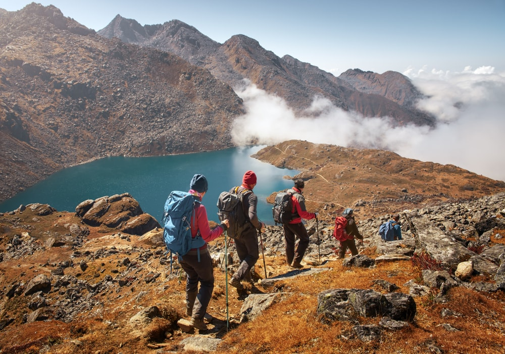 Trekking Nepal travel