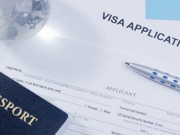 Visitor Visa passport travel