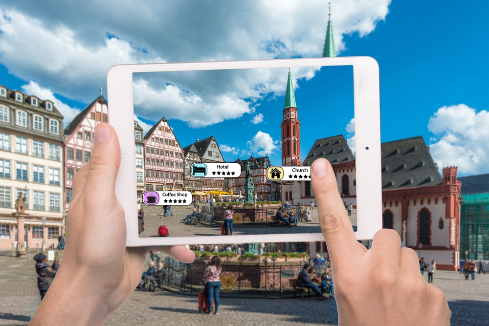 Augmented Reality Application cities tech
