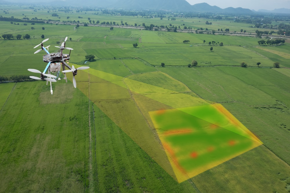 Drone Inspection map tech