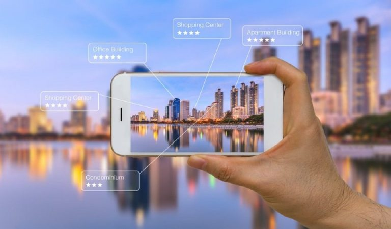 Augmented Reality Application for Smart Cities
