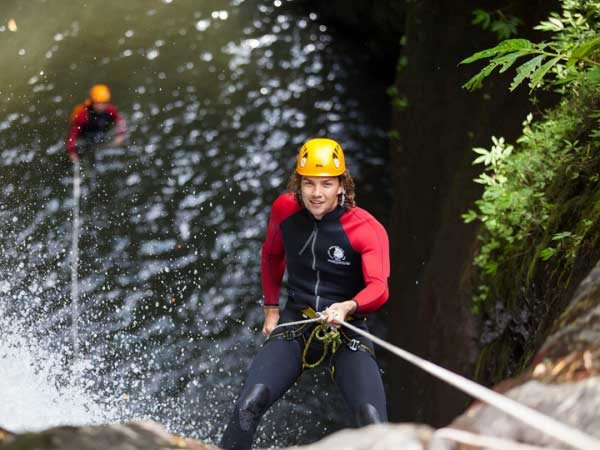CANYONING, GITGIT WATERFALL travel