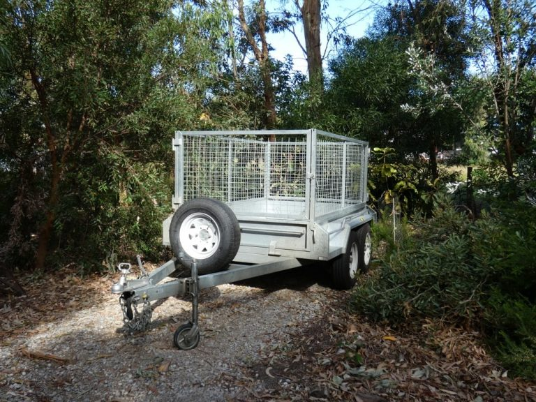 Cage Trailers car