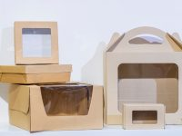 Custom Kraft Window Boxes