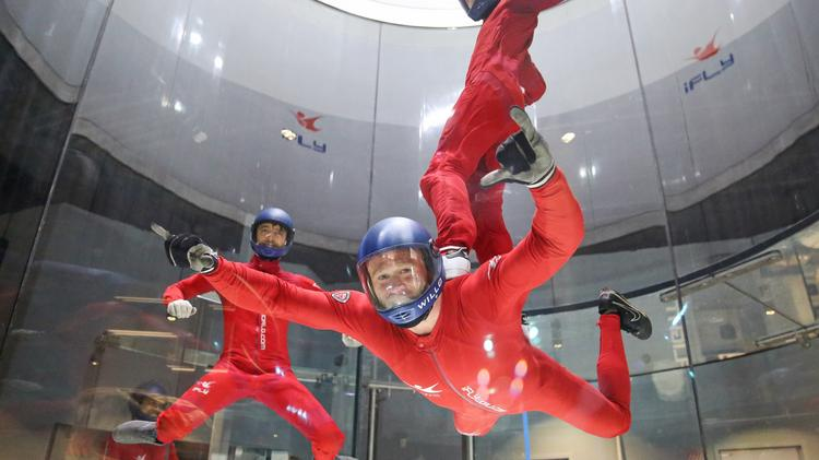 INDOOR SKYDIVING travel