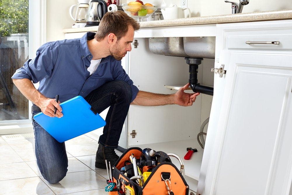 kitchen Maintaining Plumbing