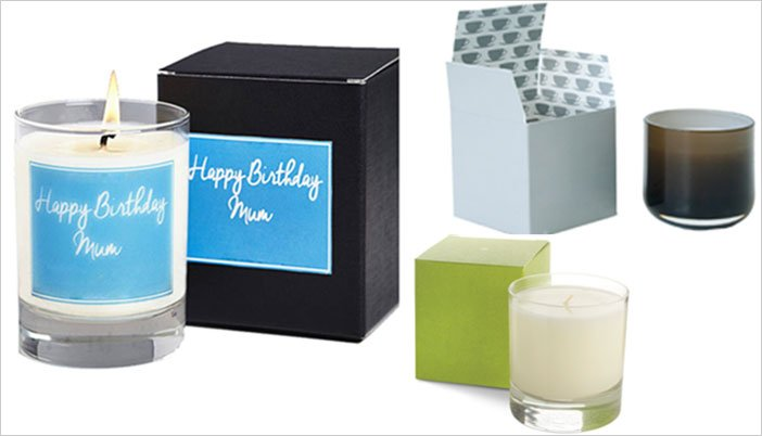 2 piece candle boxes