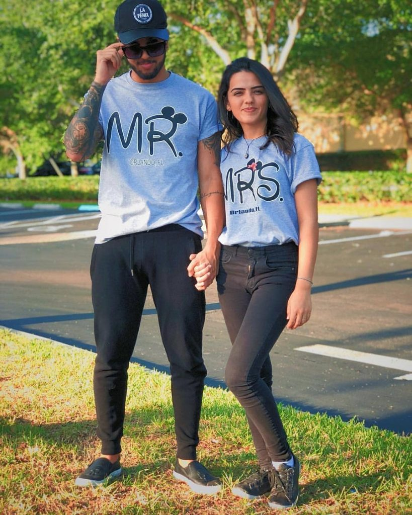 Couples Outfit Cool Mr. & Mrs