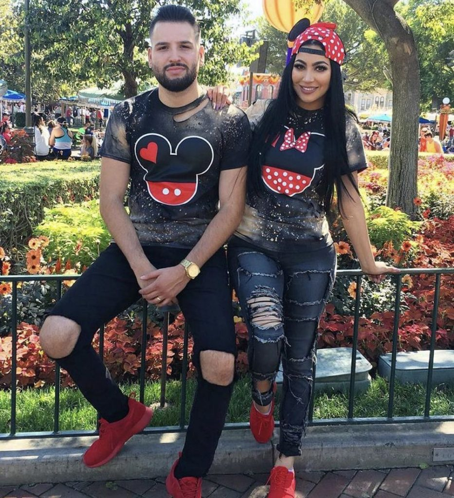 Winter Couples Micky & Mouse T-Shirts