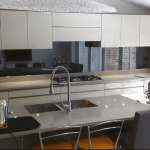 Mirror Splashback kitchen