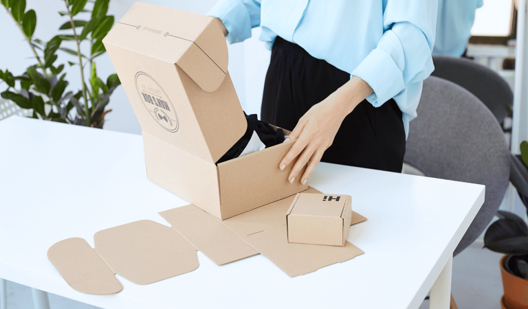 Custom Cardboard Boxes How It's Made Step by Step Process Card