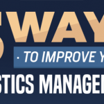 5 Ways to Improve Logistics Management infographic