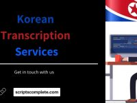 Korean Transcription Services