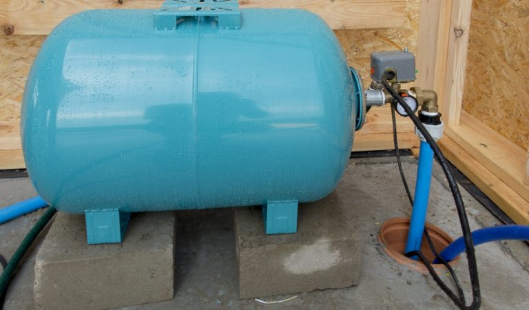 Well Pressure Tank Installation