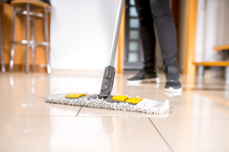 floor commercial cleaning