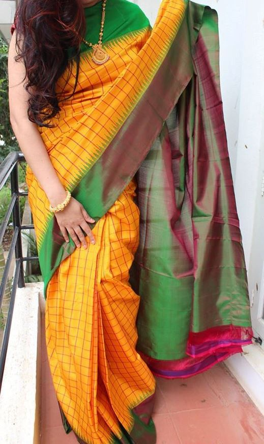 Pretty Gadwal Saree