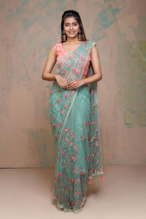 Ravishing Net Saree