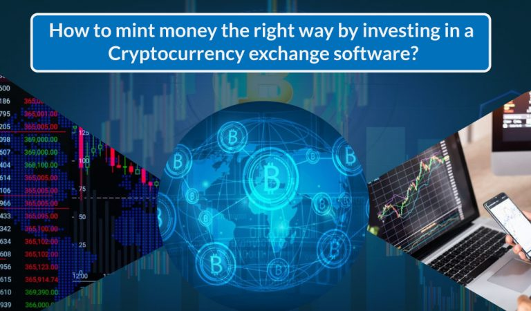 How to mint money the right way by investing in a Cryptocurrency exchange software?