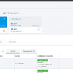 Credit Card charges in QuickBooks