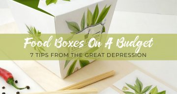 Food boxes on a budget
