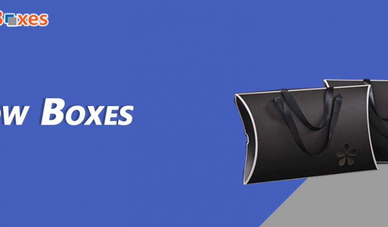 Get Amazing Custom Pillow Boxes On Wholesale Rates